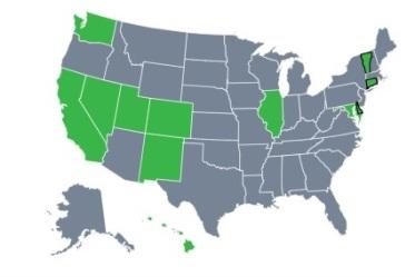 usmap of licences